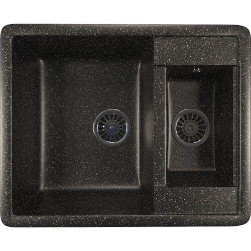 Мойка кухонная Mixline ML-GM21 черный
