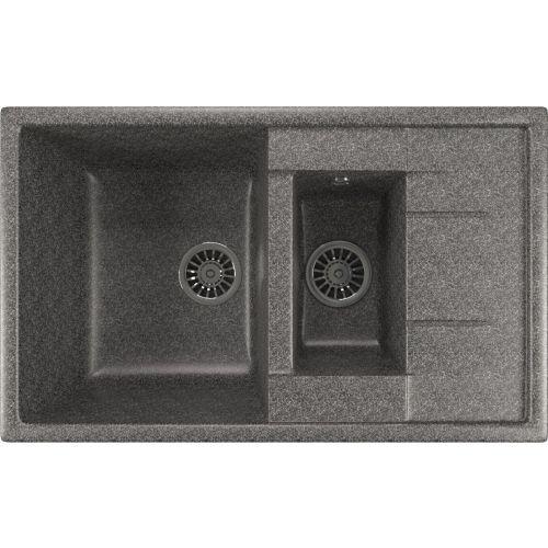 Мойка кухонная Mixline ML-GM22 темно-серый