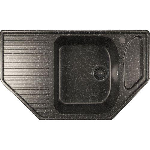 Мойка кухонная Mixline ML-GM24 черный