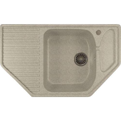 Мойка кухонная Mixline ML-GM24 серый