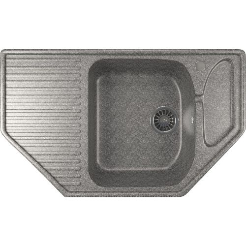 Мойка кухонная Mixline ML-GM24 темно-серый