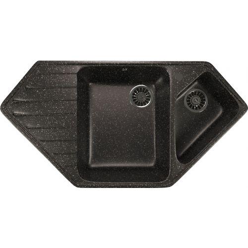 Мойка кухонная Mixline ML-GM25 черный