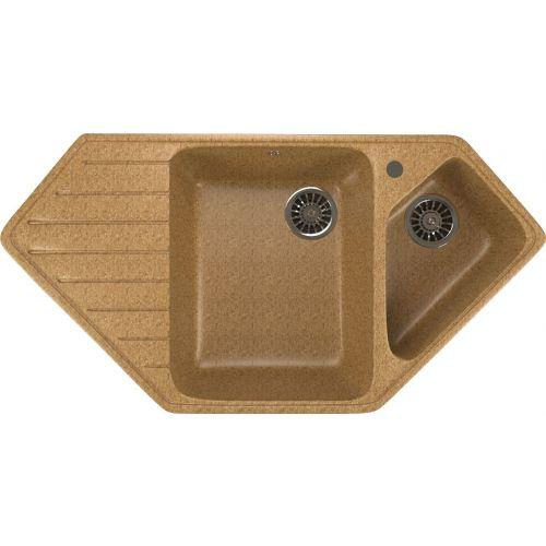 Мойка кухонная Mixline ML-GM25 песочный
