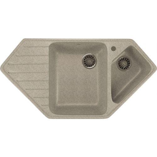Мойка кухонная Mixline ML-GM25 серый