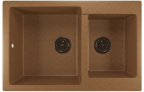 Мойка кухонная Mixline ML-GM30 (307) терракотовая