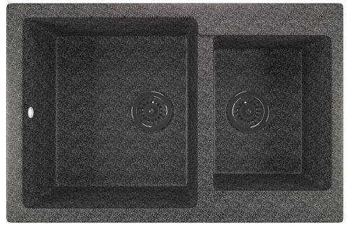 Мойка кухонная Mixline ML-GM30 (309) темно-серая