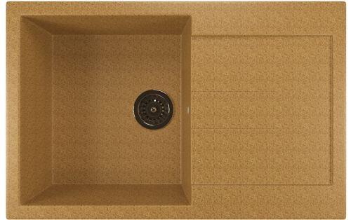Мойка кухонная Mixline ML-GM31 (302) песочная
