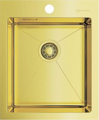 Мойка кухонная Omoikiri Akisame 41-LG 4973080 светлое золото