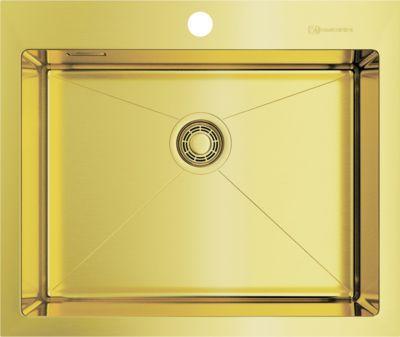Мойка кухонная Omoikiri Akisame 59-LG 4973082 светлое золото
