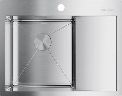 Мойка кухонная Omoikiri Akisame 65-IN-L нержавеющая сталь