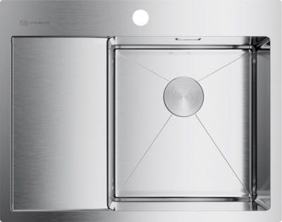 Мойка кухонная Omoikiri Akisame 65-IN-R нержавеющая сталь