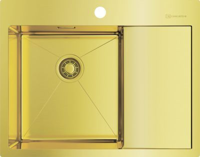 Мойка кухонная Omoikiri Akisame 65-LG-L светлое золото