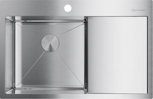 Мойка кухонная Omoikiri Akisame 78-IN-L нержавеющая сталь