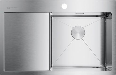 Мойка кухонная Omoikiri Akisame 78-IN-R нержавеющая сталь