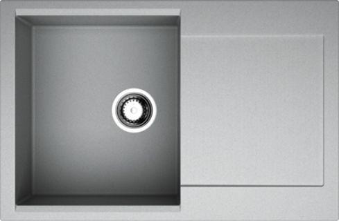 Мойка кухонная Omoikiri Daisen 78-GR leningrad grey