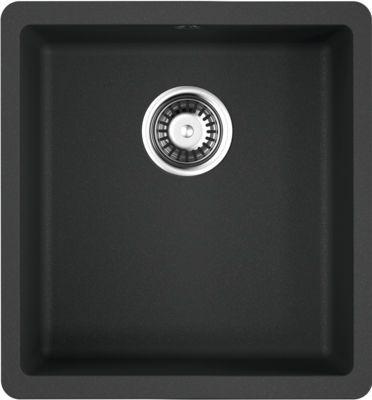 Мойка кухонная Omoikiri Kata 40-U-BL черная