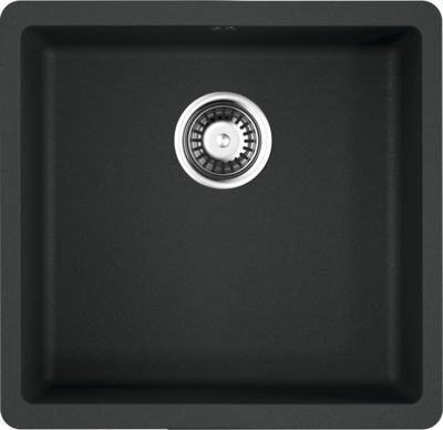 Мойка кухонная Omoikiri Kata 44-U-BL черная