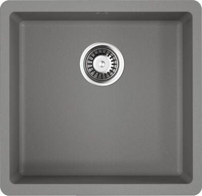 Мойка кухонная Omoikiri Kata 44-U-GR leningrad grey