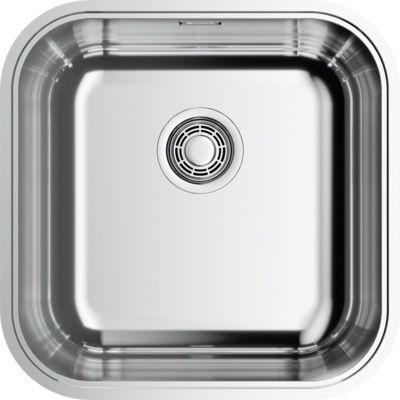 Мойка кухонная Omoikiri Omi 44-U/IF-IN Quadro нержавеющая сталь