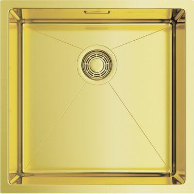 Мойка кухонная Omoikiri Taki 44-U/IF-LG светлое золото