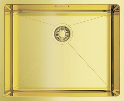 Мойка кухонная Omoikiri Taki 54-U/IF-LG светлое золото
