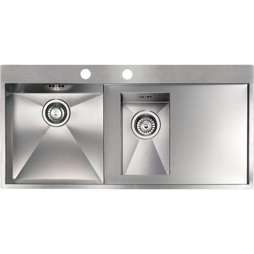 Мойка кухонная Reginox Ontario 1.5 LUX OKG left L сталь