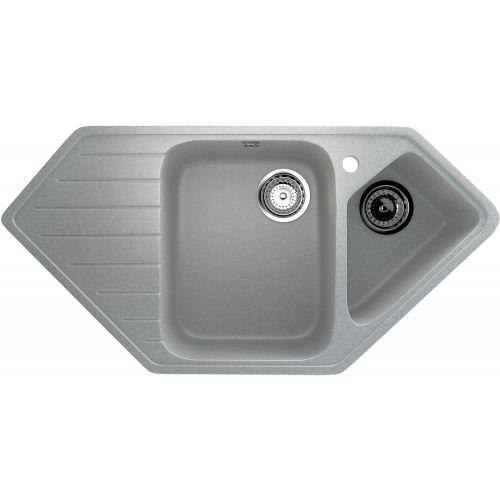 Мойка кухонная Ulgran U-409-310 серый