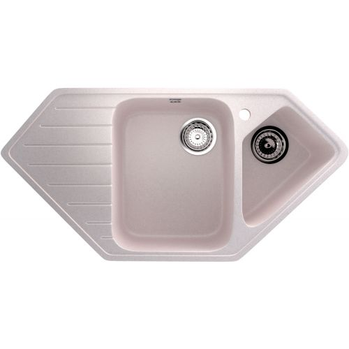Мойка кухонная Ulgran U-409-311 светло-розовая