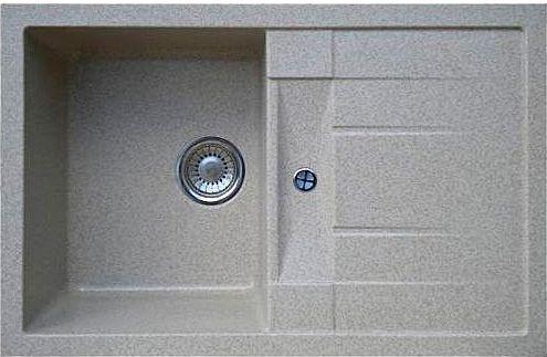 Мойка кухонная Whinstone Коралл 1B 1D серый
