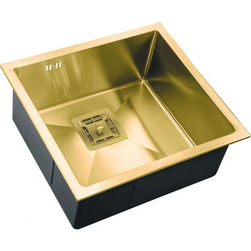 Мойка кухонная Zorg Inox Pvd SZR-4844 bronze