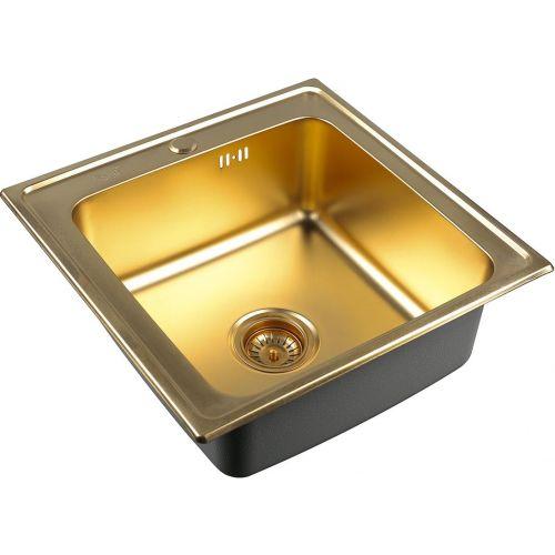 Мойка кухонная Zorg Inox Pvd SZR-5050 bronze