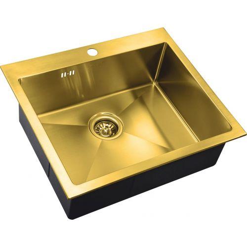 Мойка кухонная Zorg Inox Pvd SZR-5951 bronze