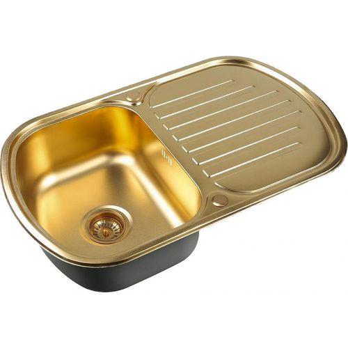 Мойка кухонная Zorg Inox Pvd SZR-7749 bronze