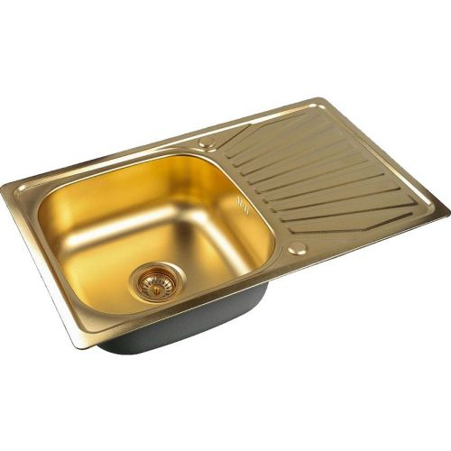 Мойка кухонная Zorg Inox Pvd SZR-7848 bronze