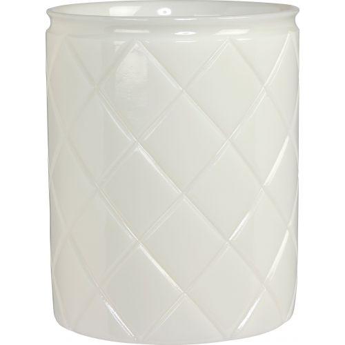 Мусорное ведро Creative Bath Cottage COT54PAS белое, 5 л