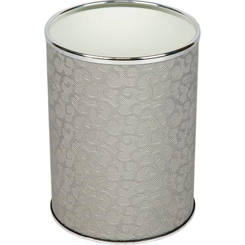 Мусорное ведро Geralis M-FHH-B серебро, хром, 3 л