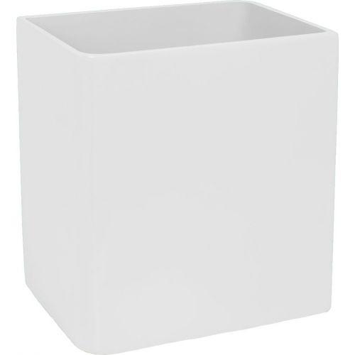 Мусорное ведро Kassatex Lacca White ALA-WB-W белое, 5 л