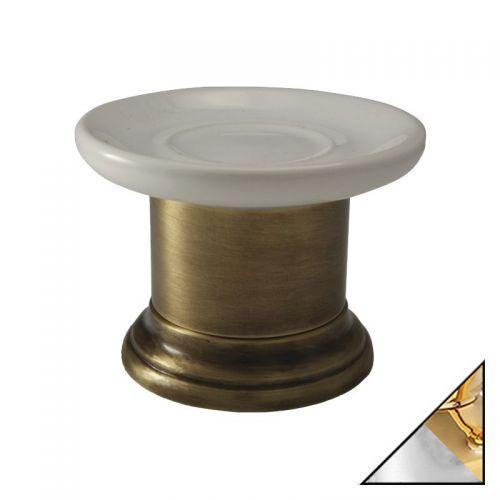 Мыльница Migliore Mirella ML.MRL-4411.CRDO хром-золото