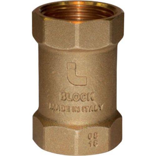 """Обратный клапан Itap 101 Block 1"""" пружинный с пластиковым седлом"""
