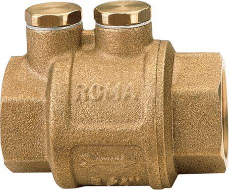 """Обратный клапан Itap 104 Roma 1/2"""" пружинный муфтовый, металлическое седло"""