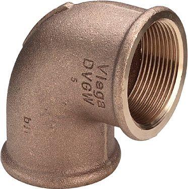 Отвод Viega 3090 90° ВВ 1