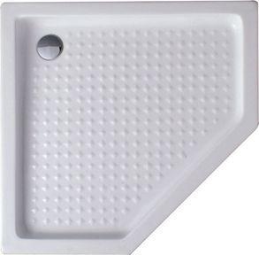 Поддон для душа Cezares Tray 100 см пятиугольный, акриловый