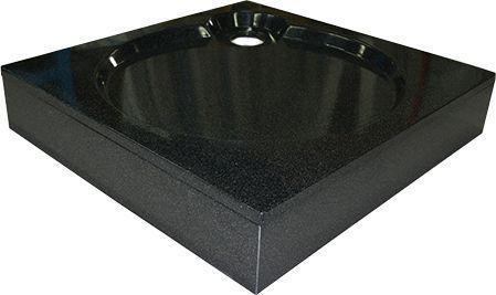 Поддон для душа GuteWetter Deluxe 100x100x16 Q черный