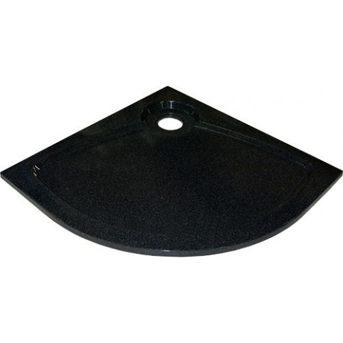 Поддон для душа GuteWetter Deluxe 100x100x4 R черный