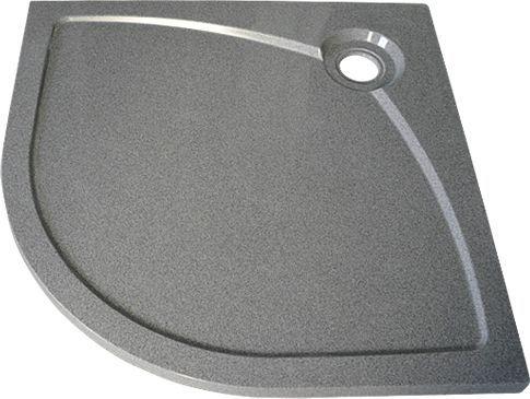 Поддон для душа GuteWetter Deluxe 100x100x4 R серый