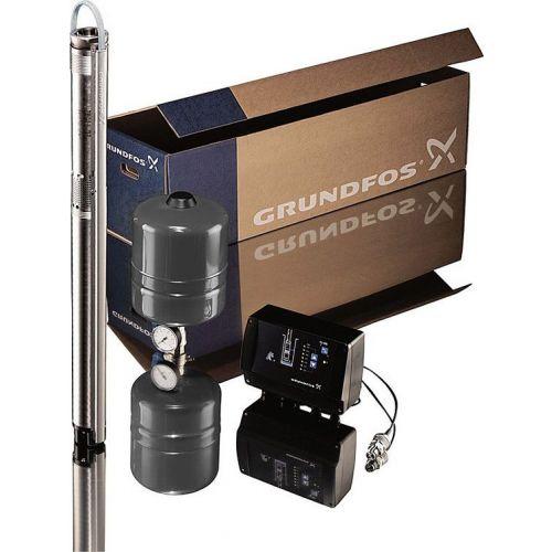 Погружной насос Grundfos SQE 3-65 комплект, скважинный