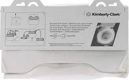 Покрытия на унитаз Kimberly-Clark Professional 6140 (Упаковка: 125 шт)