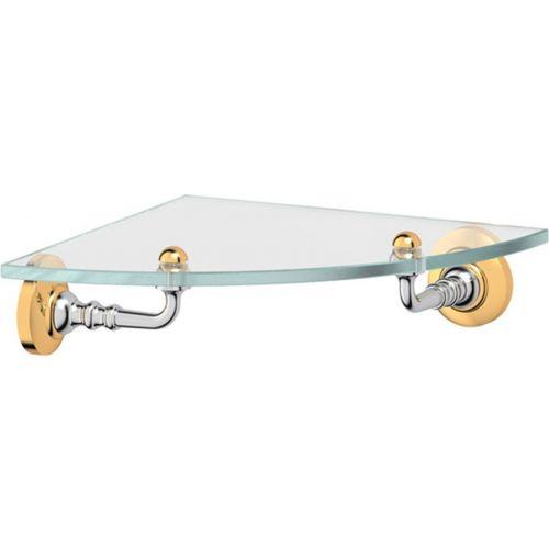 Полка 3SC Stilmar STI 118 угловая, хром, золото