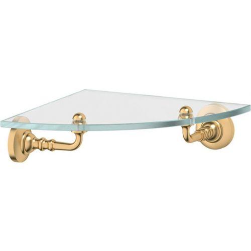 Полка 3SC Stilmar STI 318 угловая, матовое золото
