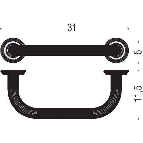 Поручень Colombo Design Hermitage В3373 хром